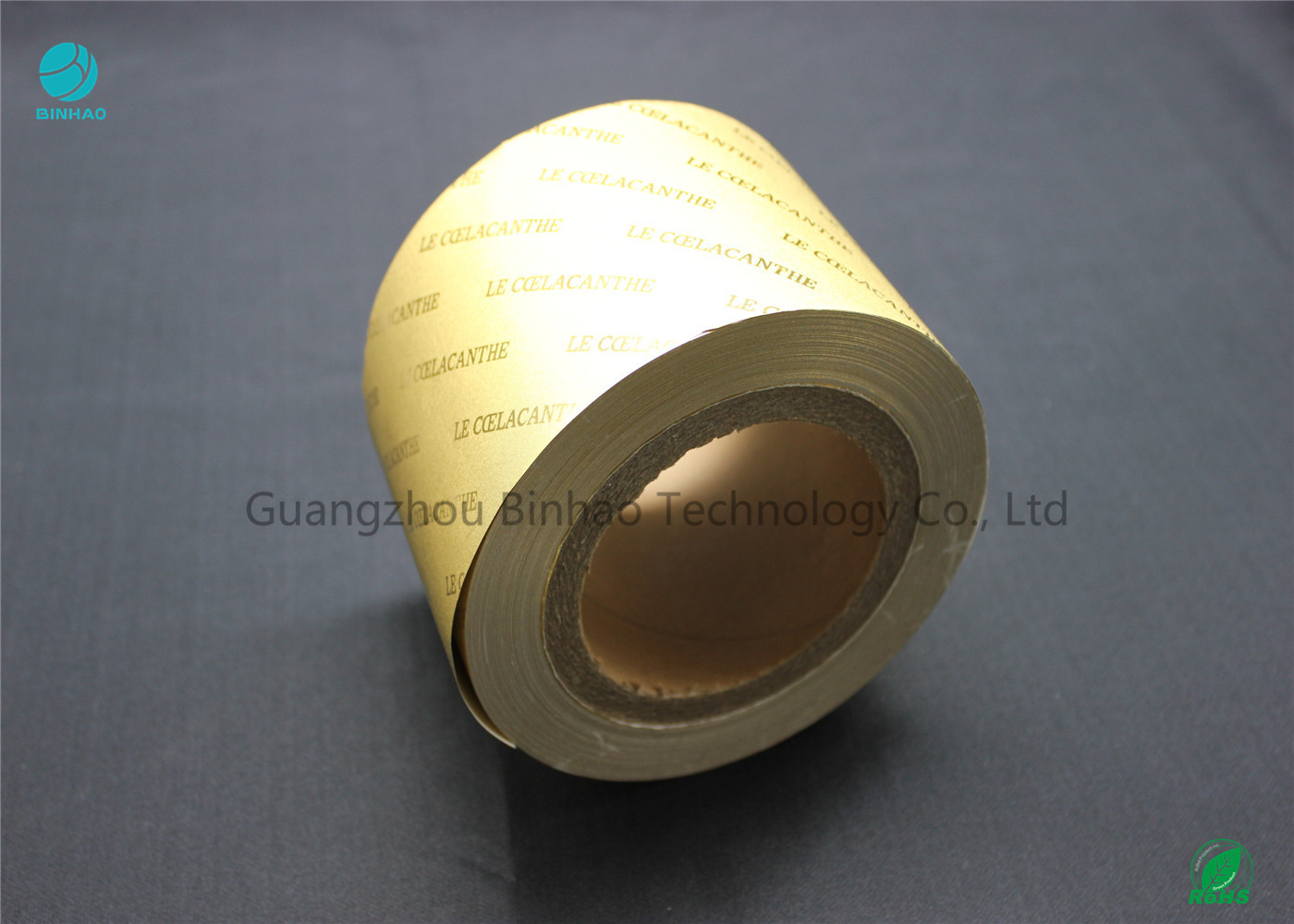 Cigarette Wrapping Backed Composite Aluminum Foil Paper 1800m Length